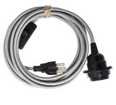 Pendant Light Cable Light Cord Silver