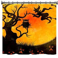 Geek Curtains Halloween Shower Curtains Target Designcorner