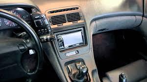 nissan 300zx twin turbo interior z thirtytwo double din radio bezel for u002790 u002796 nissan 300zx youtube