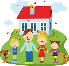 family and home family and home stock vector colourbox