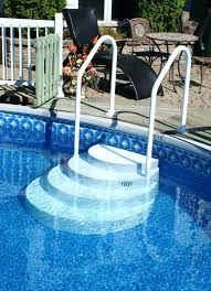 wedding cake pool steps wedding cake pool steps for inground replacement rails pools drop
