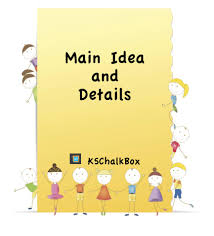 tips for teaching main idea