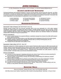 Resume Examples Entry Level by Bookkeeper Resume Entry Level Http Www Resumecareer Info