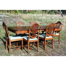 Duncan Phyfe Dining Room Table And Chairs Duncan Phyfe Shield Back Dining Chairs Dining Room Ideas