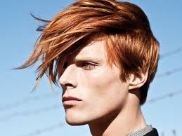 medium length hairstyles men thick hair male standard