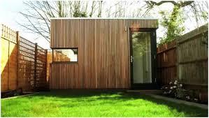 backyards beautiful this prefab london backyard studio is as