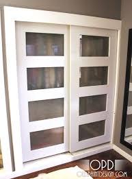 Closet Sliding Doors Modern Glass Closet Doors With Closet Sliding Doors Modern