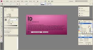 in design adobe indesign