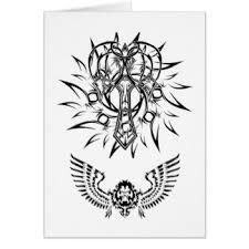 tribal tattoo designs cards u0026 invitations zazzle co uk