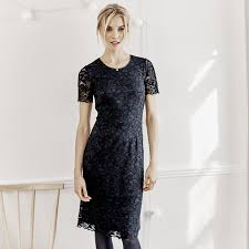black dress company lace dress navy the white company shopping from the us