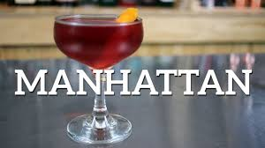 manhattan drink manhattan cocktail recipe youtube