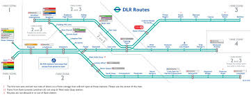 England Train Map by Dlr London Map Dlr Map Of London England