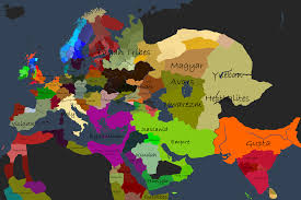 Map Of Islam Around The World by When The World Stopped Making Sense A 480 Migrational Period Aar