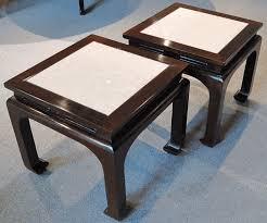 chinese rosewood side table asian furniture pair of ming style rosewood side tables from