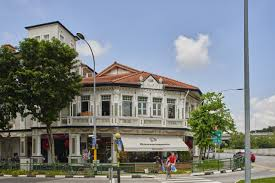 White House With Black Trim Singapore U0027s Tudor Homes Offer Luxury In Black And White Wsj