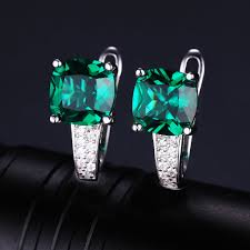 fine emerald rings images Jewelrypalace 8 7ct emerald ring pendant clip earrings jewelry set jpg