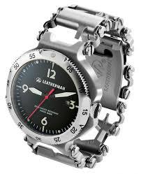 leatherman steel tool bracelet images Leatherman tread watch with tool bracelet ablogtowatch jpg