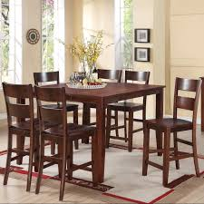 8 Piece Dining Room Set Chair Dining Room Sets Bar Height Tall Dining Room Chairs 9