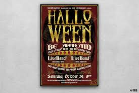 halloween flyer background halloween flyer template psd to customize easily vol 1