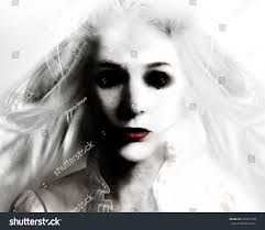 black scary halloween background scary evil woman black eyes red stock photo 220651708 shutterstock