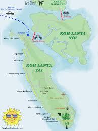 Phuket Thailand Map Koh Lanta Travel Guide Easy Day Thailand