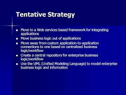 using web services in an application integration strategy at case