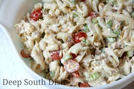 chicken pasta salad deep south dish chicken pasta salad