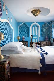 tangier moroccan design tangier and moroccan blue moroccan bedroom at the dar sultan hotel in tangier