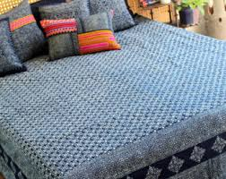 batik bedding etsy