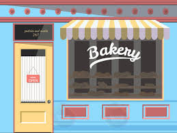 bakery dementia friendly wall mural life size enhance care homes bakery dementia walll mural