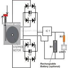 build a simple hand crank flashlight