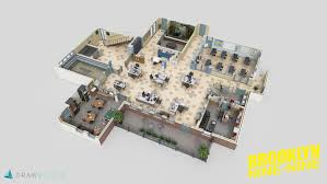Tv Show Apartment Floor Plans Detailed 3d Floor Plans Of Famous Offices From Beloved Tv Shows