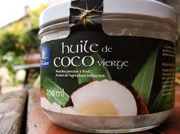 huile de coco en cuisine frites à l huile de coco vierge chair et tendre