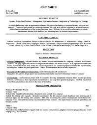 Business Analyst Resume Samples by Business Analyst Resume Template Premium Resume Samples U0026 Example