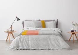 Bedding Sets Uk Fleck 100 Brushed Cotton Bed Set Grey Made