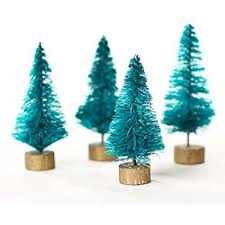 miniature christmas trees package of 24 miniature christmas sisal forest trees