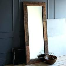 Reclaimed Wood Bathroom Mirror Reclaimed Wood Mirror Salmaun Me