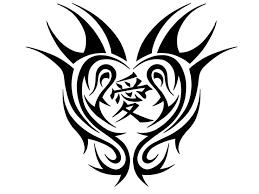 22 best tribal heart tattoo designs women images on pinterest