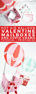balloon grams easy hot air balloon boxes printables somewhat simple