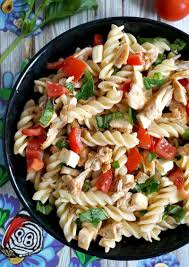 chicken caprese pasta salad recipe