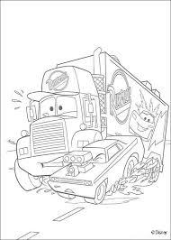 mack super liner truck coloring pages hellokids