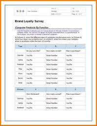 5 survey template word receipt templates
