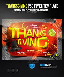 thanksgiving flyer template thanksgiving flyer