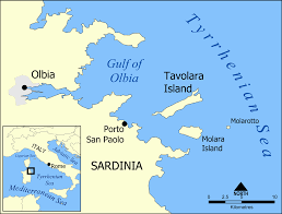 Map Of Tuscany Italy Sardinia Sardegna Map Sardinia Is The Second Largest Island