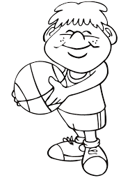 boy playing ball coloring 6066 disney coloring book res