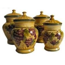 grape kitchen canisters kitchen decor grape desing tuscany wine bread canister box by