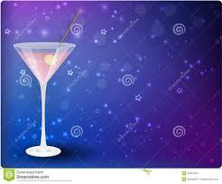 martini purple martini on night background stock vector image 32357832