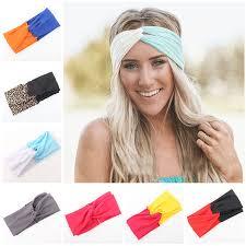 where to buy headbands woman stretch twist turban headband sport headbands for women