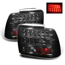 mustang led tail lights 1999 2004 ford mustang led tail lights smoke duraflex body kits