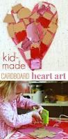 cardboard art projects for kids modern art